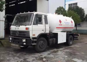 China 10000 Liter 5 MT Dongfeng LPG Gas Tanker Truck Fuel Delivery Tanker For Butan Gas Delivery / Refilling on sale