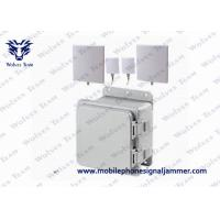 Middle WiFi2.4 GSM 3G Cell phone Jammer with IR Remote Control 4G LTE/Wimax