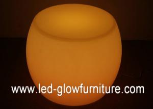 China Polyethylene Plastic RGB color changing waterproof LED Chair  / stools / Table on sale