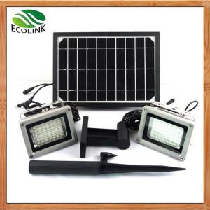 China China Solar Energy /Solar Power Dual Outdoor LED Floodlight for Garden on sale