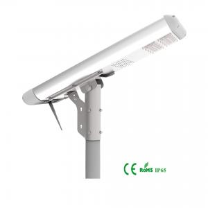 China Renewable Integrated Solar Street Light AL Material Over 21% Transfer Rate on sale