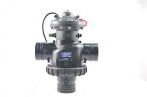 China Electromagnetic Pool Backflow Valve , Small Auto Pool Filter Control Valve  on sale