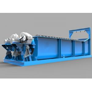China 12500MM FlumeLength Sand Screw Wash Plant Fine Material Washer on sale