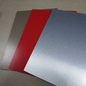 China ACP High Gloss Aluminium Composite Panel 2mm Drawing Process Exterior Wall on sale