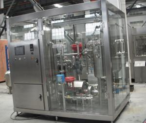 Quality Complete Drinking Water Production Line Automatic 3 In 1 Cleaning Filling Capping for sale