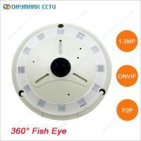 1.3MP HD Fisheye IP Camera 360 degree Panoramic View 128G SD Card