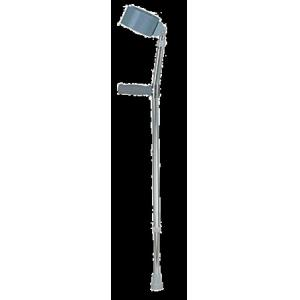 China Metal cuff forearm crutch, tall audlt(33~42) / adult(28~37) / young(21.5~30.5) on sale