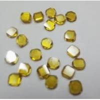 0.80ct/pc large size yellow diamond, large crystal diamond, diamond for jewelry