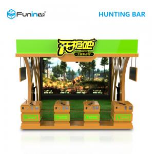China 4 Players Hunting Bar VR Shooting Simulator With 150 Inch Screen For Teenagers on sale