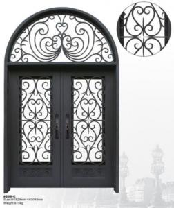 China Wrought Iron Door on sale