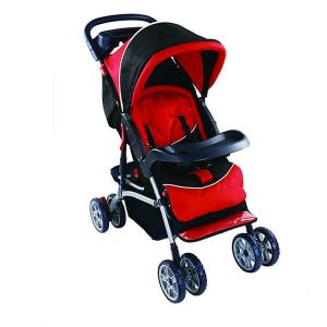 China Luxury Aluminum Baby Buggy Strollers / Baby Trend Stroller Anti Shock Wheels on sale