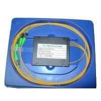 1 * 3 Fused Fiber Coupler , 1310 - 1550 FC / APC Optical Fiber Coupler