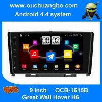 Ouchuangbo 9 inch quad-core and Big Touch Andriod 4.4 for Great Wall Hover H6 with 3G wifi BT Stereo System