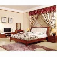 Bedroom Sets with TV Stand, Nightstand, Bed, Dresser and Wardrobe Oak Wood Bedroom Furniture