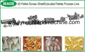 China 2D and 3D Pasta pellets making machine on sale