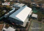 Trade Show / Sport Event Tents For Basketball Court With White PVC Roof Cover