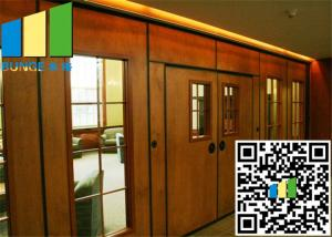 Quality Acoustic Rate 45 Db Commercial Sliding Doors Wall Partition 3.346 Inch Thickness for sale