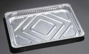 China Full Size Table Steam Pan Aluminium Foil Container For Baking 130ml - 1500ml Capacity on sale