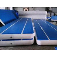 Customized Inflatable Gymnastics Air Mat With Repair Kits Indoor Entertainment