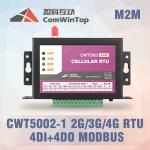 CWT5110 Wireless Modbus RTU GPRS I O Module With 4 Di 4Do Environmental Monitoring