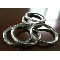 PTFE / Teflon SS Shaft Oil Seal With Single Or Double Lips For Air Compressor
