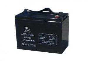 China Rechargeable 180Ah 6 Volt Lead Acid EV Battery Vibration Resistance on sale