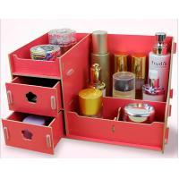Sacred fir wood cosmetics wholesale storage box Desktop Organizer box with wooden storage