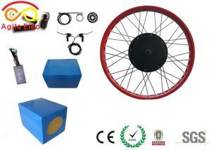 China High Efficiency Folding E Bike 1000 Watt Kit With Blue Lithium Battery on sale