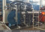 Power plant water filtering system with back blow system of automatic cleaning control