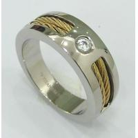 Fashion 316L stainless steel TA2 titanium magnetic finger rings, OEM & ODM acceptable