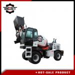 3.6 cubic meters self loading concrete mixer truck for sale with free spare parts provided