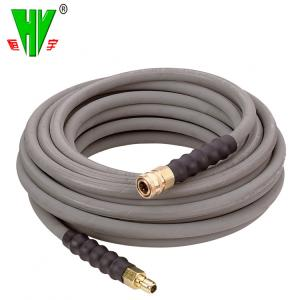 China DIN high temperature flexible rubber hose hydraulic high pressure water hose for washing on sale