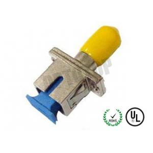 China SC - ST Fiber Optic Connectors Single Mode For Connecting , Telecommunication on sale
