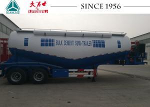 China 35 Tons Durable Cement Bulk Carrier Truck , 30 CBM Bulk Cement Tanker on sale