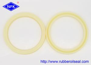 China Durable Yellow Polyurethane Hydraulic Rod Seal For Automobile , Motorcycles on sale