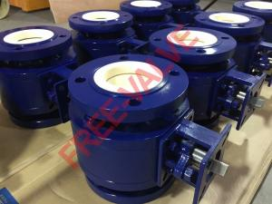 China Anticorrosive Ceramic Lined Ball Valve  for coal power station on sale