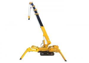 China Mobile Mini Spider Crane 1 Ton 3 Ton 5 Ton Remote Control Crawler Crane on sale