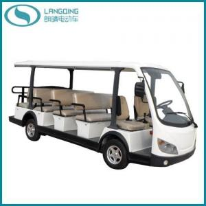 China CE Electric Car Sightseeing Tourist Coach Shuttle Bus Passenger Bus (LQY145B) on sale