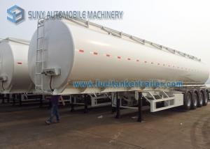 China Перевозки 60000L топливного бака трейлер 14500*2500*3950mm цапфы трейлера 4 Semi on sale