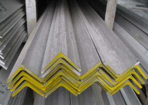 China 316L 304 Stainless Steel Angle , Hot Rolled Polished Stainless Steel Angle Iron supplier