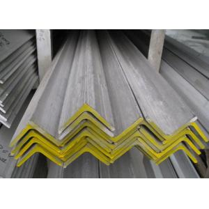 China 316L 304 Stainless Steel Angle , Hot Rolled Polished Stainless Steel Angle Iron on sale