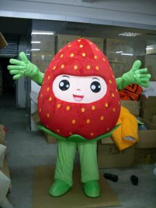 Quality handmade advertising tomatoes mascot cartoon costumes for kids and adults for sale