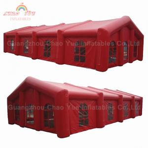 China Commercial Grade PVC Tarpaulin Inflatable Party Tent for Rental Waterproof on sale