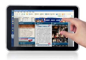 China windows 7 tablet PC 10.1 inch with Intel Atom CPU,EXW on sale