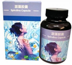 China Spirulina (Blue-green Algae) Capsule on sale