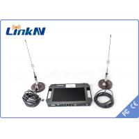 Police military security surveillance HD Wireless Transmitter , AES 256 cofdm video transmitter receiver