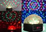 9W LED mini crystal ball,9W LED stage light
