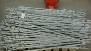 China Galvanized Steel wire for Dead End Clamp on sale