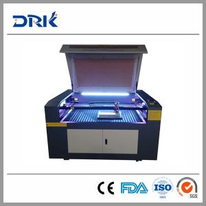 China Laser Engraving Cutting Machine for leather shoe equipment from china for the small business on sale