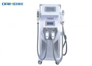 China 4 in 1 IPL Hair Removal Machine IPL  Shr Elight Laser Hair Removal Machine Nd Yag Laser Equipment on sale